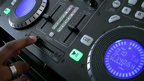 Citronic Cdmx1 Dj Mixing Deck Youtube