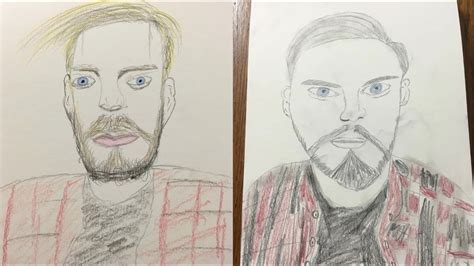 drawing famous youtubers  bad drawing youtube