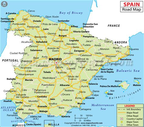 Road Map Of Northern Spain.25 Detailed Map Northern Spain Pics Freepix
