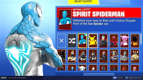 fortnite  season  spiderman skin hack battle