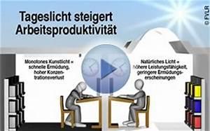 Beleuchtung Am Arbeitsplatz : fvlr tageslicht beleuchtung von arbeitsst tten ~ Orissabook.com Haus und Dekorationen