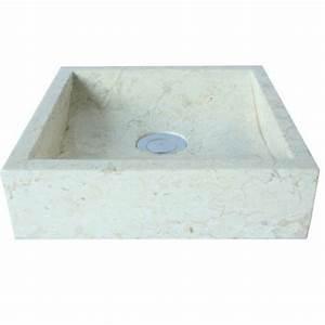 Waschbecken Eckig Klein : wohnfreuden marmor waschbecken 30 cm klein eckig creme ~ Watch28wear.com Haus und Dekorationen