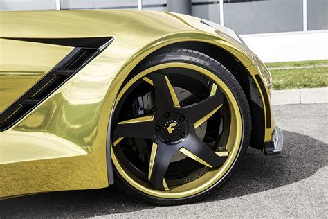 widebody corvette stingray  forgiato  magnificent