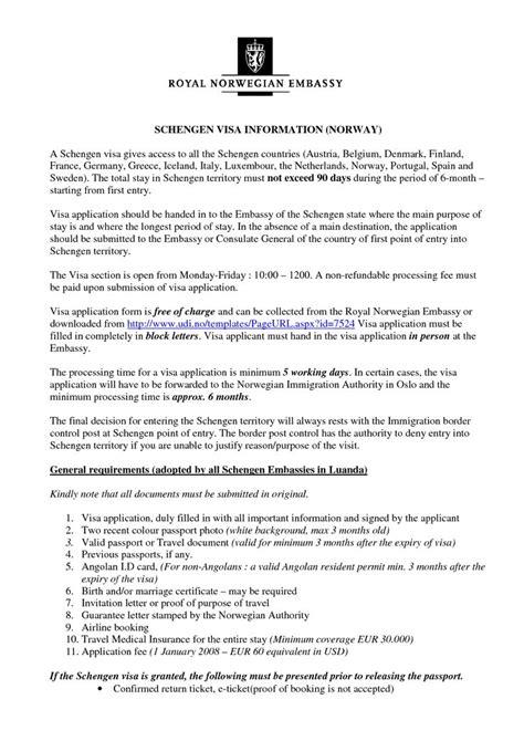 invitation letter format  schengen visa letter