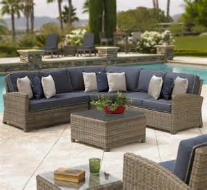 northcape international bainbridge outdoor corner sectional w sloping arms becker furniture