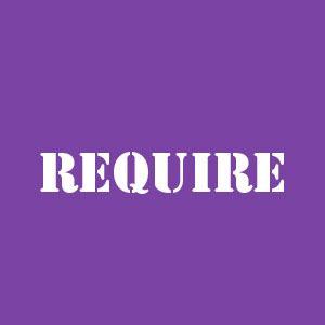 Require 3 формы глагола, перевод, произношение и спряжение - English4Life