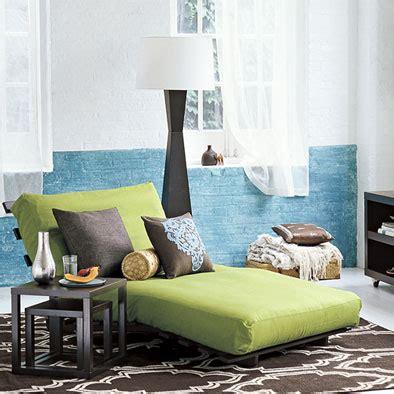 futon lounger padstyle interior design blog modern