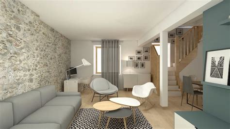 bureau decoration d interieur coin bureau dans salon decoration vintage soa architecture int 233 rieure