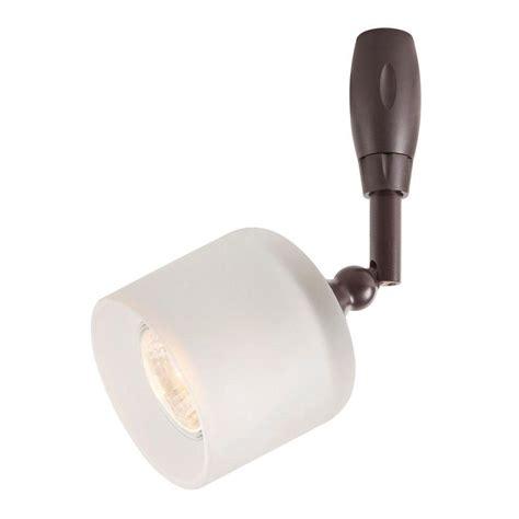 hton bay flexible track lighting commercial electric 1 light bronze flexible track lighting