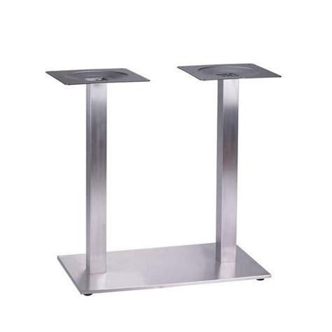 pied de table cuisine pied tetra inox pieds de table mobilier terrasse