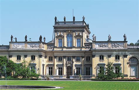 wilanow palace warsaw poland attractions lonely planet