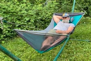 Sleeping In An Eno Hammock by Better Together Eno Fuse Tandem Hammock System Review