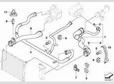 BMW Genuine Expansion Tank Radiator Coolant Water Pipe