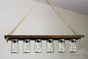Upcycle a vanity light strip to hanging pendant