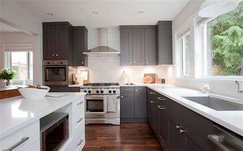 Grey Shaker Kitchen Cabinets Quicua Com
