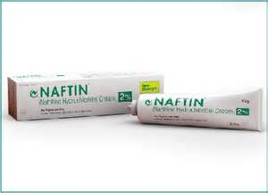 Naftin+1%+Gel Naftin Cream 2% (naftifine hydrochloride) is an ... Naftifine Hydrochloride Topical