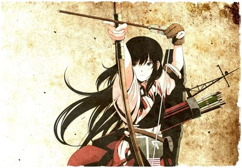 Anime Archer Wallpaper - anime bows archers kantai collection wallpapers hd