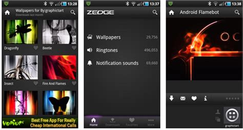 zedge app for android free zedge android ringtones zedge android wallpapers