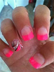 1000 images about Neon Nail Ideas on Pinterest