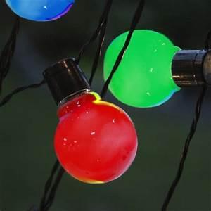 Led Party Lichterkette : led party lichterkette lightchain bunt kabel schwarz mit 16 gl hbirnen 9 5m 230v ~ Eleganceandgraceweddings.com Haus und Dekorationen