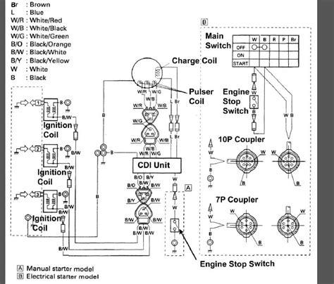 Yamaha 40hp 2 Stroke Wiring Diagram by 50hp Yamaha 2 Stroke Problem The Hull Boating