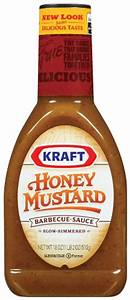 Kraft Honey Mustard Barbecue Sauce, 18 Oun