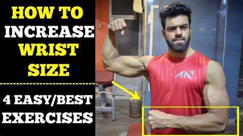 How To Increase Wrist Size  4 Easy Exercises Youtube
