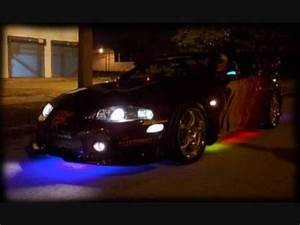 cars with neon lights