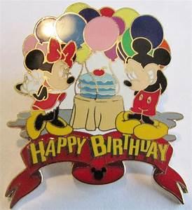 Happy Birthday Mickey Mouse : disney happy birthday mickey mouse minnie mouse pin ebay ~ Buech-reservation.com Haus und Dekorationen
