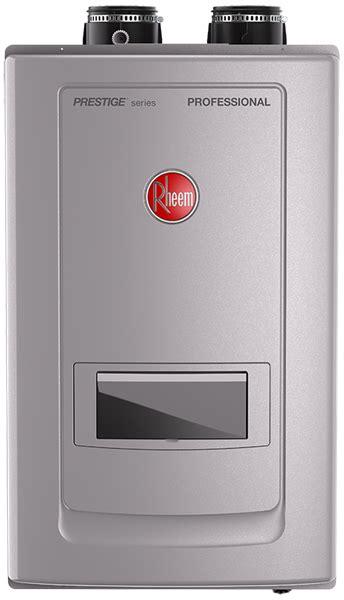 rheem water heaters gas electric tankless nj dealer