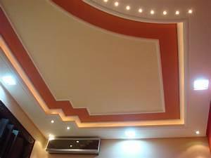 Beau Platre Plafond Moderne Avec Decoration Plafond Platre