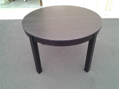 ikea ghost chairs and table ikea black 46 in expandable table with self