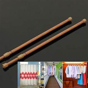 Barre De Rideau Extensible : t lescopique extensible barre de tringle rideau armoire ~ Melissatoandfro.com Idées de Décoration