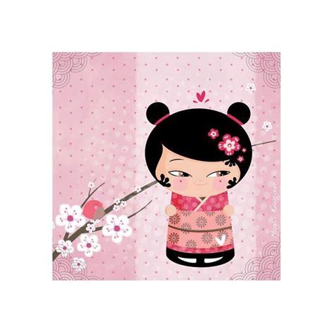 tableau enfant wild girl  kimmidoll geishakokeshis
