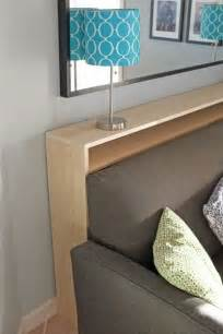 diy narrow console table diy hacks tips tricks
