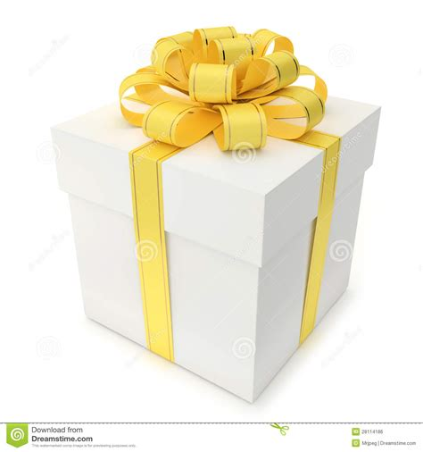 yellow soft christmas gift gift box with yellow ribbon and bow stock illustration illustration of allowance