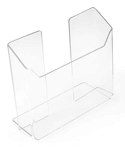 plastic magazine holders plexiglas magazine holder literature display pocket for 1545