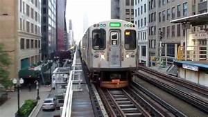 Train à L Arrivée : chicago 39 l 39 the loop cta trains youtube ~ Medecine-chirurgie-esthetiques.com Avis de Voitures