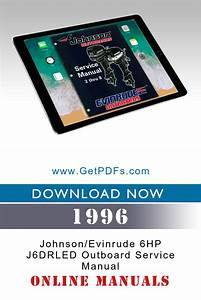 Download Manual For 1996 Johnson  Evinrude 6hp J6drled