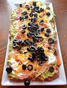Mexican Layer Dip Recipe Dishmaps