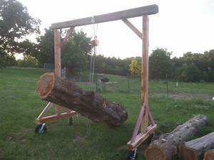Gantry crane - by Cedar Furniture Lodge @ LumberJocks com