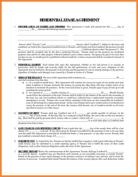 Trucking Agreement Template by Agreement Owner Operator Lease Agreement Form