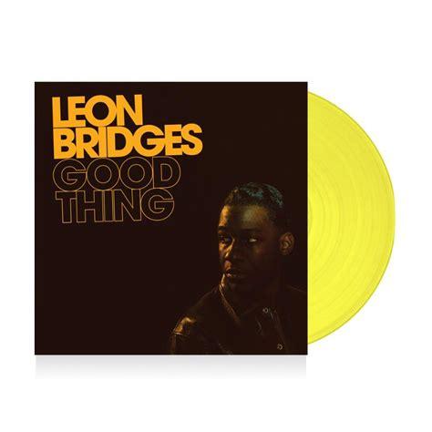 leon bridges good  limited yellow vinyl lp