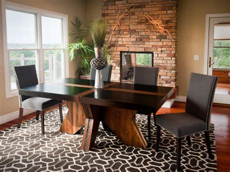 Modern dining furniture sets, modern rustic dining room