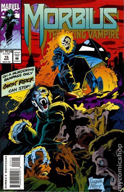 morbius  living vampire  comic books