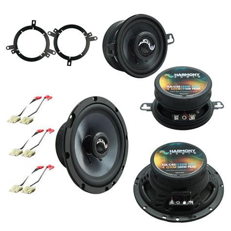 fits jeep grand 1996 1998 oem premium speaker replacement harmony upgrade kit ha spk