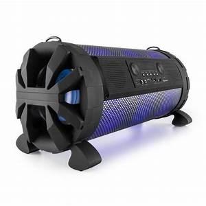 Lautsprecher Akku Bluetooth : thunderstorm mobiler bluetooth lautsprecher 120w max akku usb sd led 2x 20 cm 8 online kaufen ~ Markanthonyermac.com Haus und Dekorationen