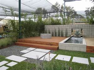 Modern landscape design water fountain small area google for Modern garden fountain designs