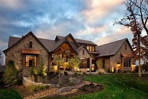 10, Stunning, Rustic, Stone, House, Makes, Your, Home, Natural