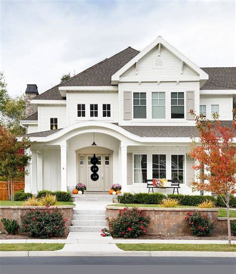 Because White Exteriors Are Beautiful And Timeless